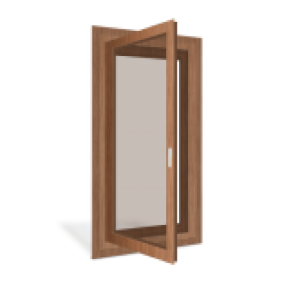 Tilt and Turn Wood Window