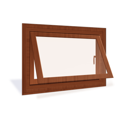 Awning Wood Window