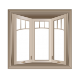Bay Fiberglass Window