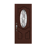 Dark Walnut Exterior Door - PT1640