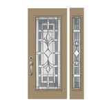Exterior Pebble Door - PT2064